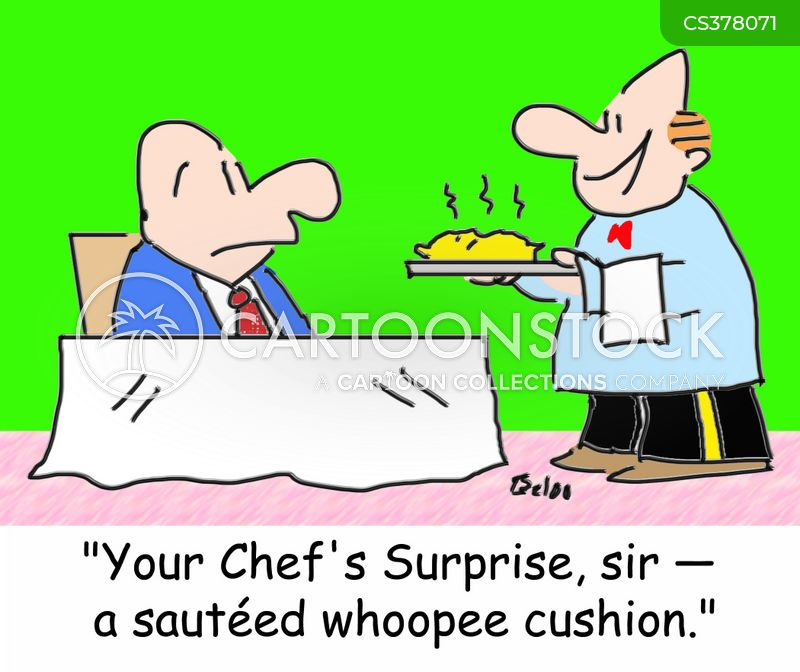 whoopee cushion cartoon