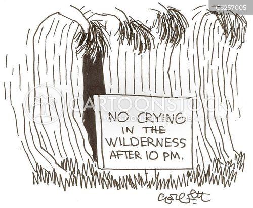 wailing cartoon