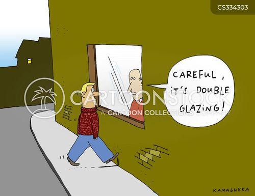 double glazing cartoon