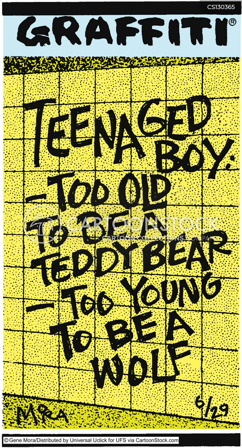 teenage boys cartoon
