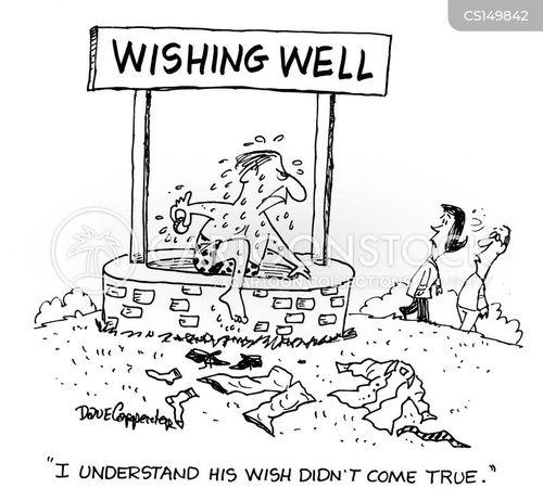 wish come true cartoon