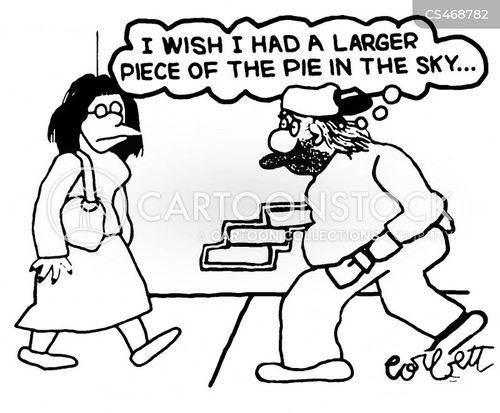pie in the sky cartoon