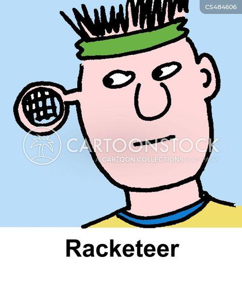 racketeers cartoon