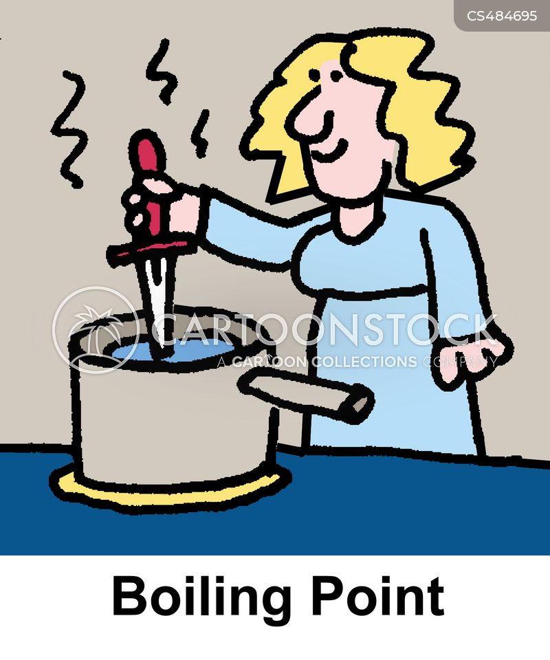 boiling point cartoon