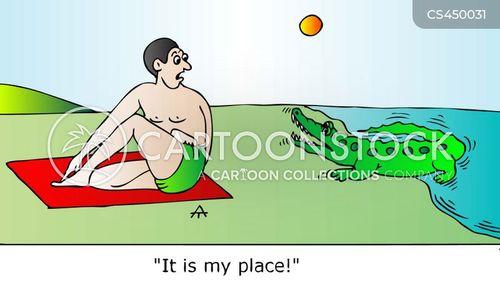 place cartoon