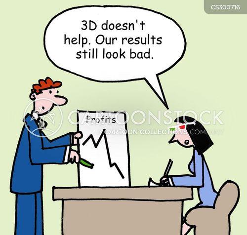 3d specs cartoon