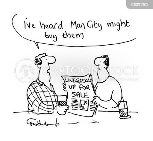club owners cartoon