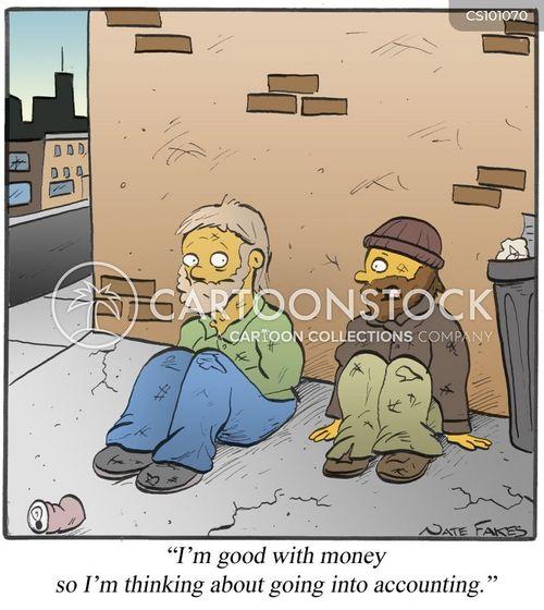 financial management cartoon