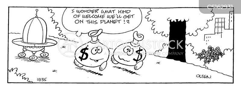 money bags cartoon