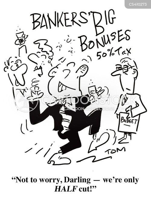 exchequer cartoon