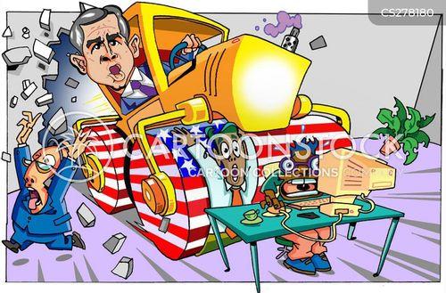 the president cartoon