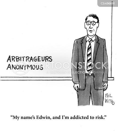 arbitrage cartoon