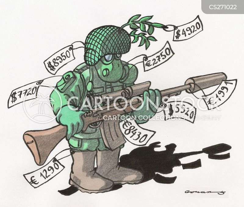 military uniform cartoon