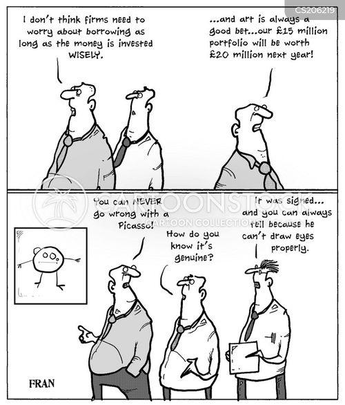 picasso cartoon