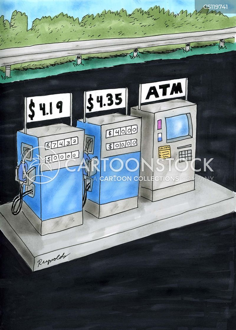 cash point cartoon