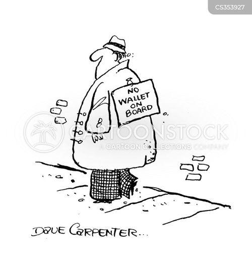 warned off cartoon