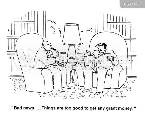 grant money cartoon