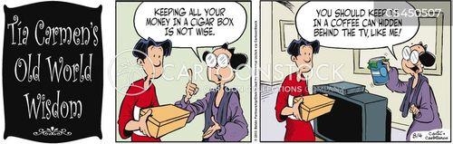 lack of trust cartoon