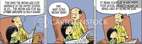 young demographic cartoon