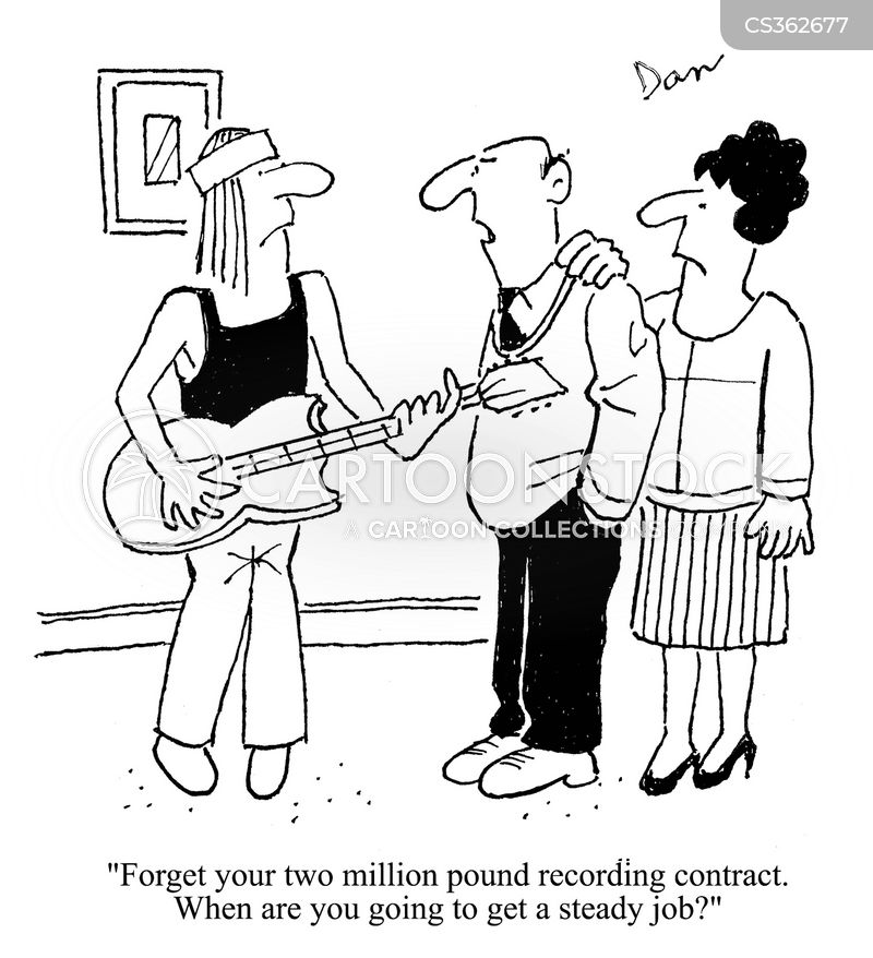 Steady Jobs Cartoons and Comics - funny pictures from