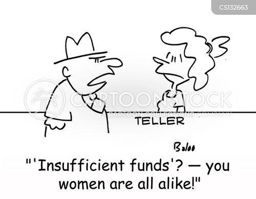 insufficient funds cartoon