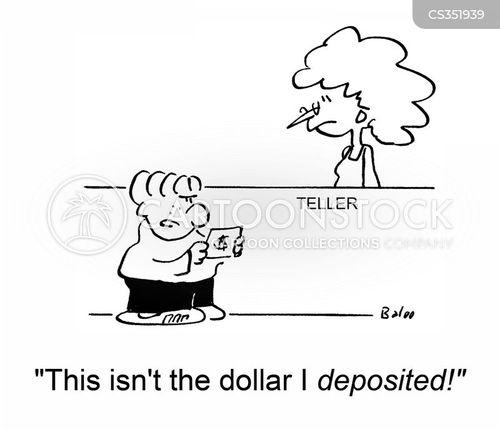 deposited cartoon