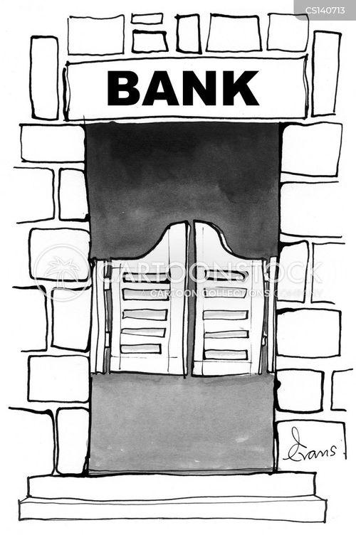 financier cartoon