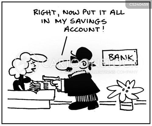 building society cartoon