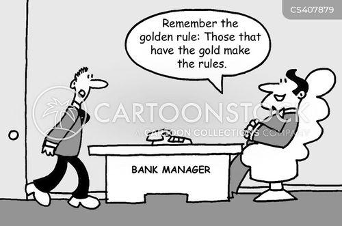 golden rule cartoon