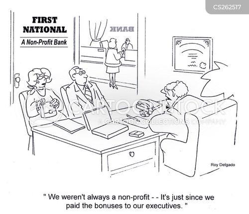 bankers bonuses cartoon