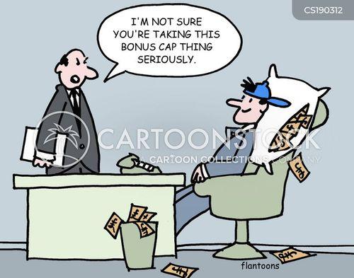 bonus cap cartoon