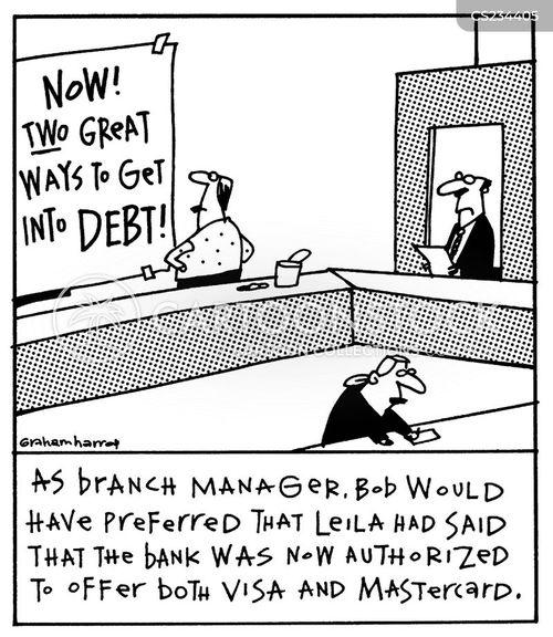 branch manager cartoon