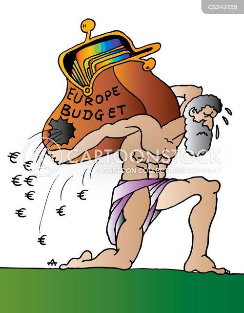 european budget cartoon
