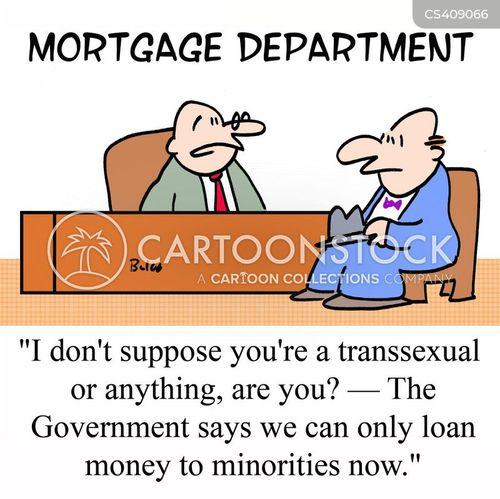 positive discrimination cartoon