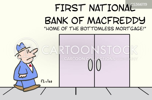 national banks cartoon