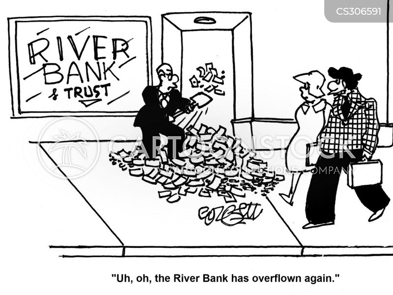bank safe cartoon