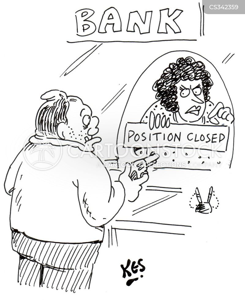 position closed cartoon
