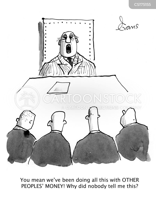 banking crisis cartoon