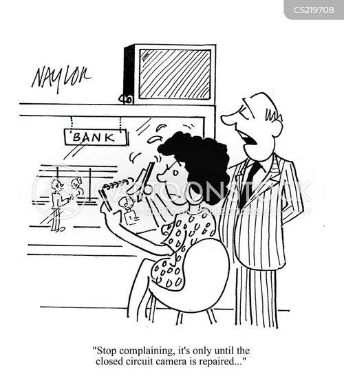 not working cartoon