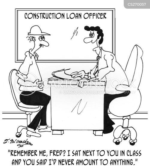 Mortgage Loan Cartoon Construction Loan Cartoon 1 of