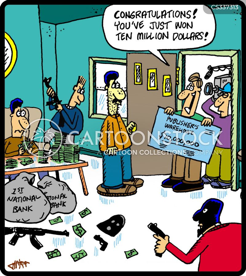 winnings cartoon
