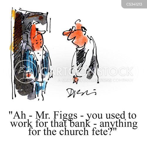 church fetes cartoon