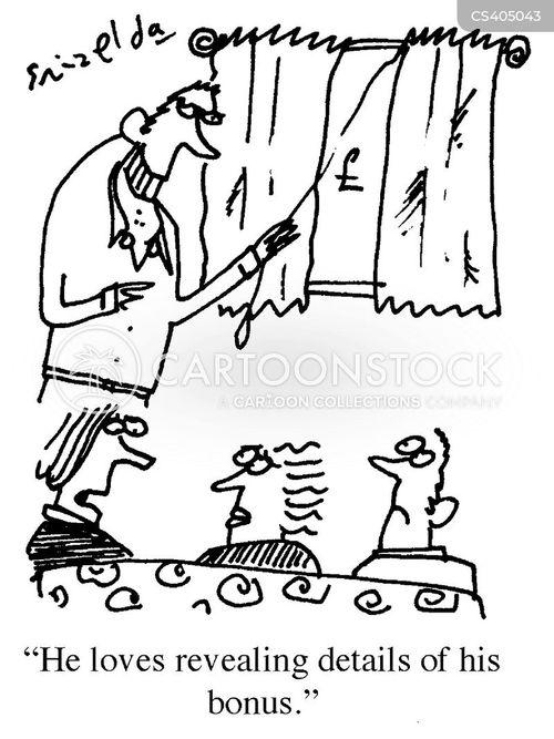 executive pays cartoon