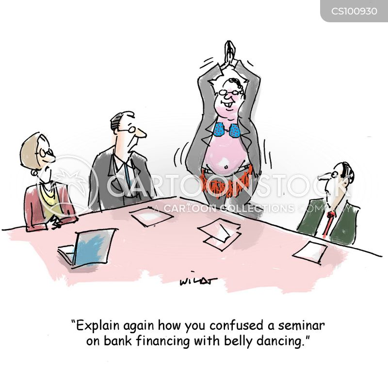 belly dancers cartoon