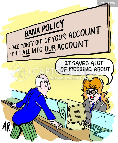 Banking Policies Cartoons And Comics