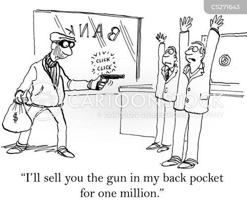 fake guns cartoon