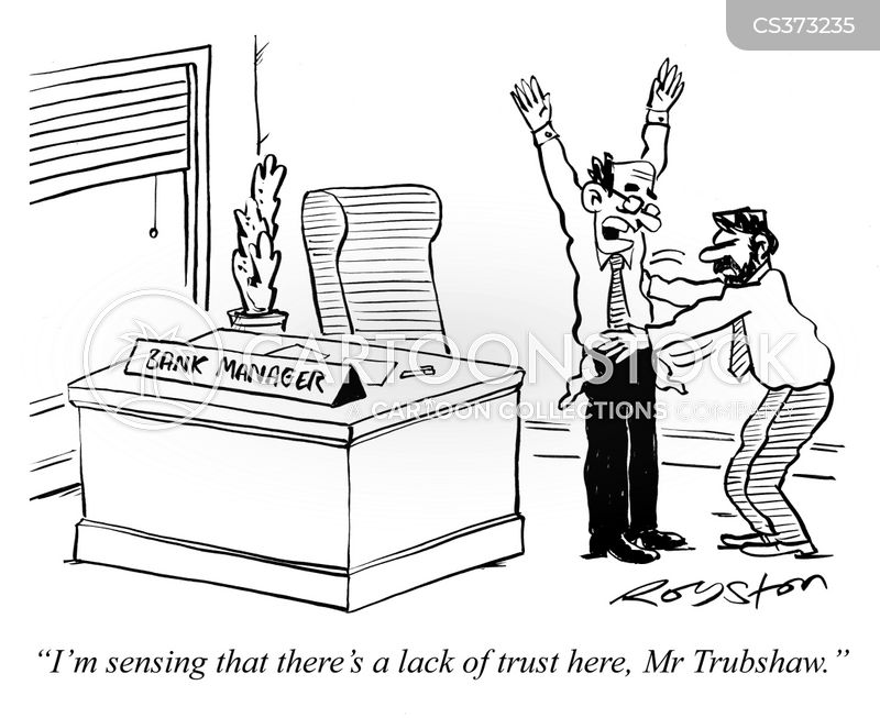 mistrust cartoon
