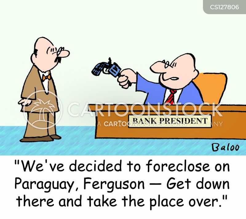 forclose cartoon