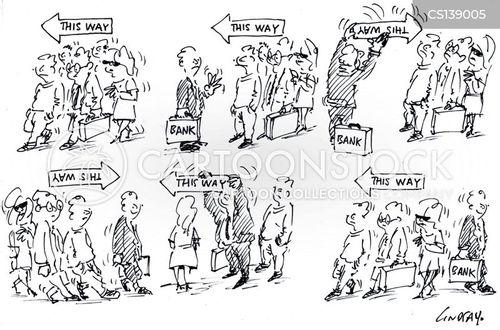 bank fee cartoon