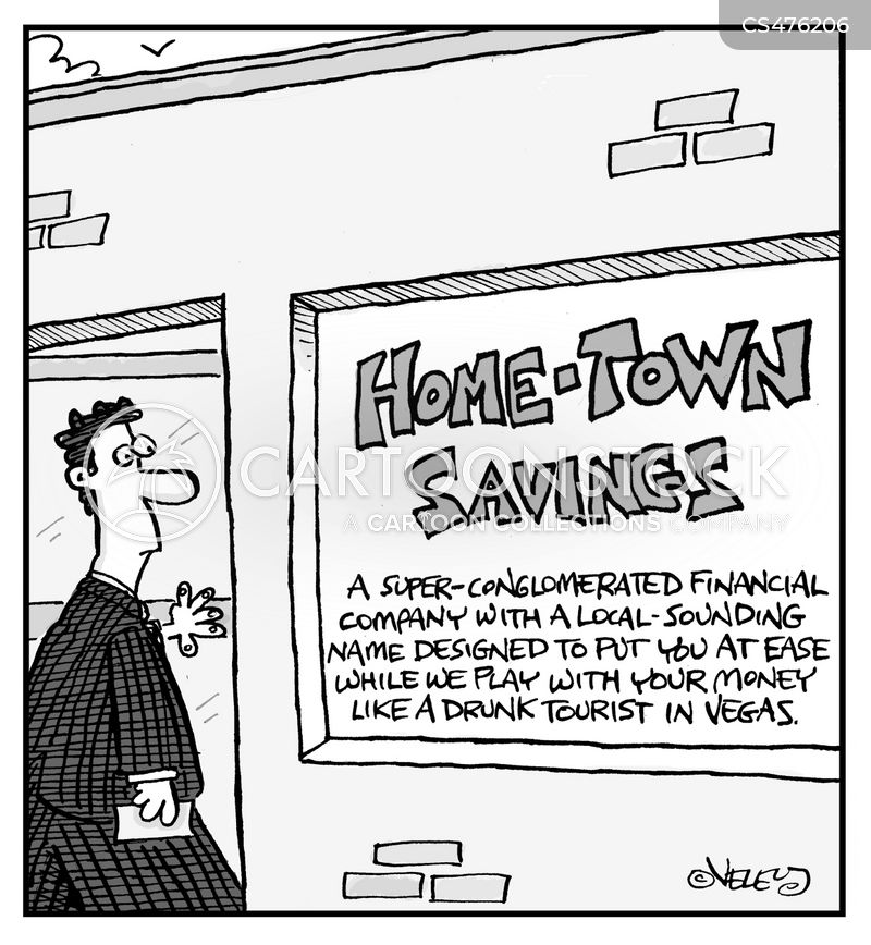 credit union cartoon
